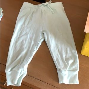 Gap mint green sweatpants 12-18 month